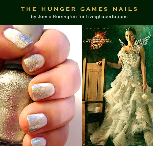 The Hunger Games Nail Art Tutorial Inspired by Katniss Everdeen LivingLocurto.com