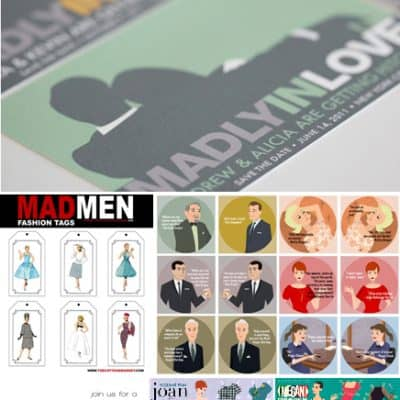 Mad Men Free Party Printables