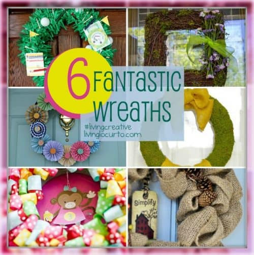 6 Fantastic Wreaths from Living Locurto's Living Creative