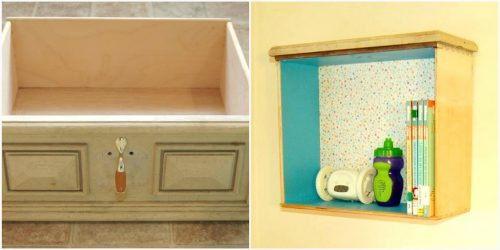 Drawer Shelf by Lindsay from Diary of a Crafty Lady