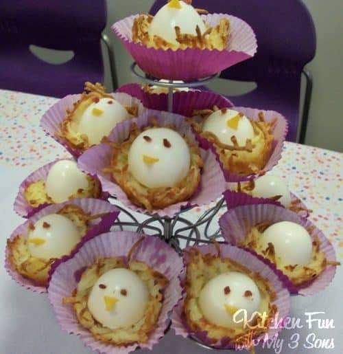 Birdy Breakfast Nests by Kitchen Fun With My 3 Sons