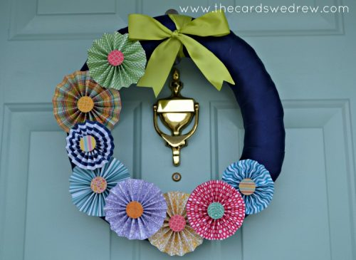 Pinwheel Wreath by The Cards We Drew | Living Locurto
