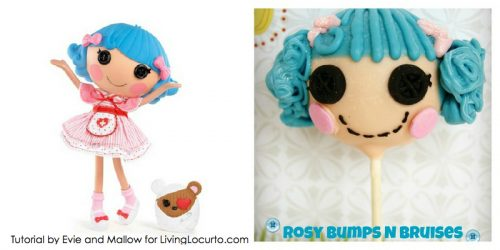 LaLaLoopsy Tutorial by Evie and Mallow for LivingLocurto.com