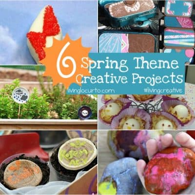 Spring Craft Projects {Living Creative Thursday}