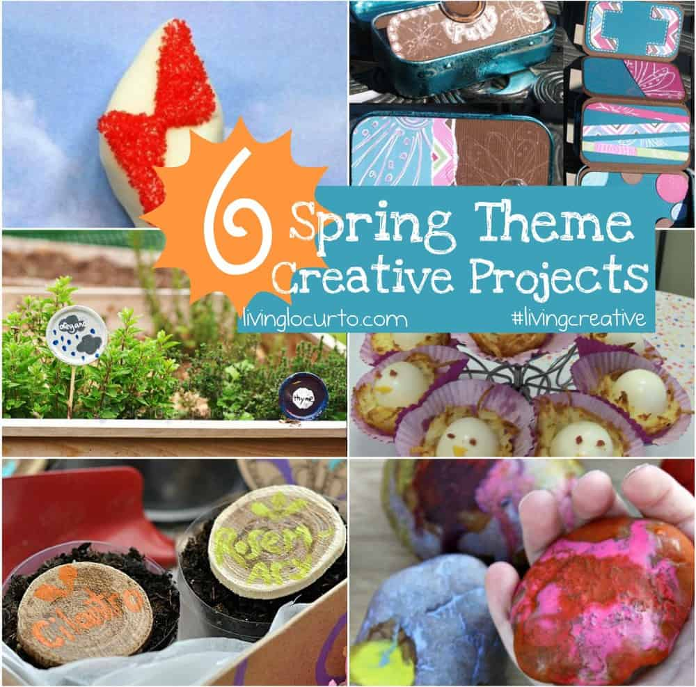 Spring Theme Creative Projects