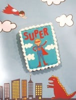 super hero cookie