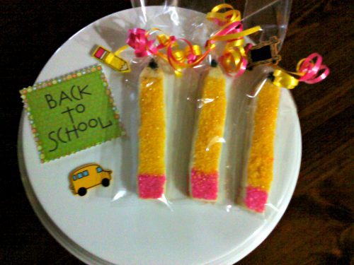 Pencil Shortbread Cookies by Faith's Cookies