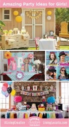Girl Party Ideas from LivingLocurto.com