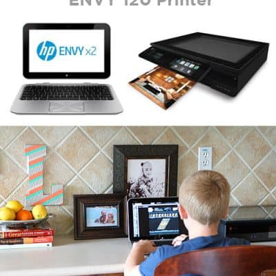 Trying the HP Envy x2 Laptop & Printer {Free Printable Teacher Card}