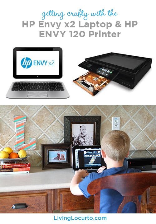 HP Envy x2 Laptop & Printer Review + Free Printable Card by LivingLocurto.com