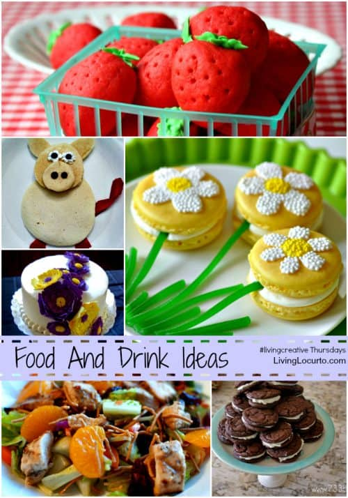 Fun Food Ideas Living Creative Thursday