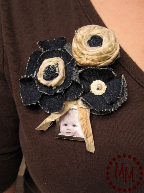Mother's Day Brooch Instructions from The Scrap Shoppe
