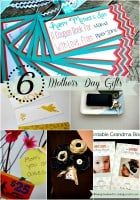 Mother's Day Gift Ideas with Free Printables {Living Creative Thursday}