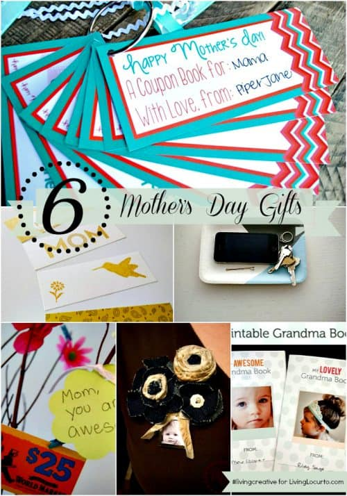 Mother's Day Gift Ideas for #livingcreative Thursday with LivingLocurto.com
