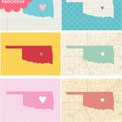 Prints for Oklahoma – 100% of May Sales Donated