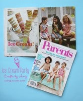 Ice Cream Party Ideas {Parents Magazine Feature}