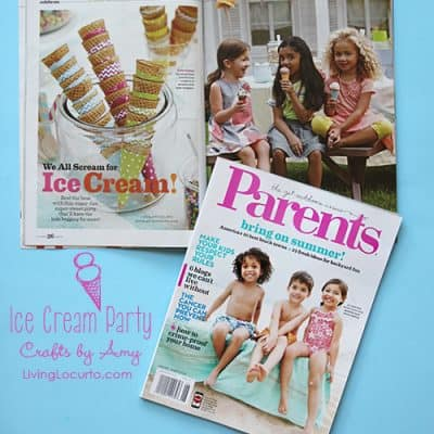 Ice Cream Party Ideas {Parents Magazine Feature}