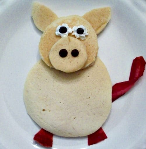 Piggy Pancakes by Kitchen Fun With My 3 Sons