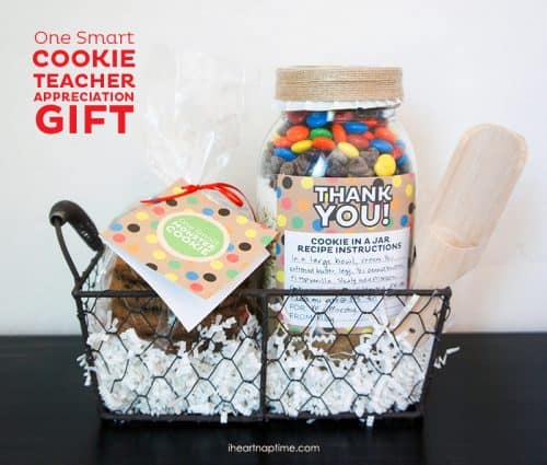 6 DIY Gift Ideas & Crafts! Teacher Appreciation Gift from Erin for I Heart Naptime
