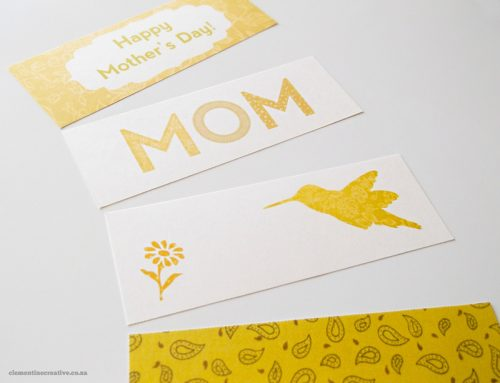 Free Printable Mother's Day Bookmarks by Clementine Creative