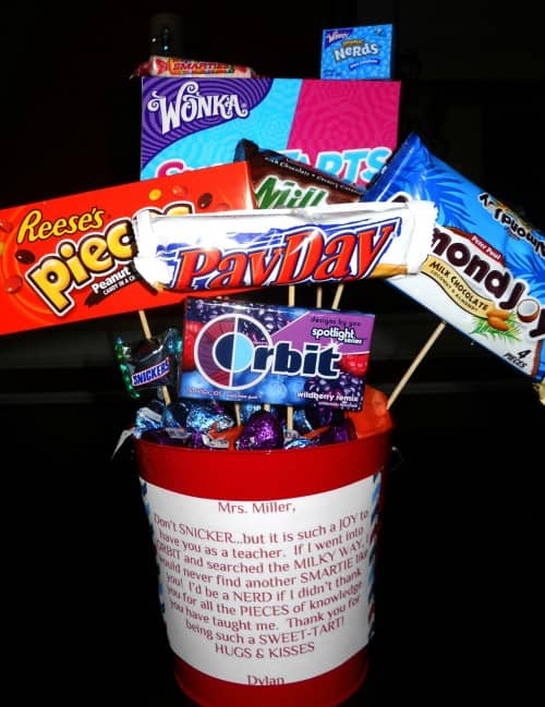 Teacher Candy-Gram by Divine Party Concepts