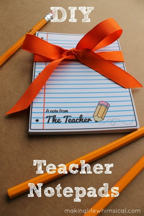 Teacher Notes by Making Life Whimsical