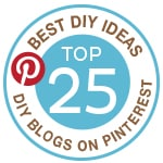 Top 25 DIY Bloggers on Pinterest