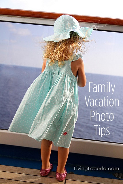 Family Vacation Photo Tips for taking better travel photos. LivingLocurto.com