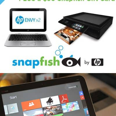 HP Envy x2 Laptop & Printer Giveaway ($998 Value) CLOSED