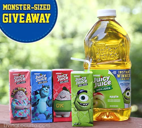 Monster University & Juicy Juice College Adventure Giveaway! LivingLocurto.com #giveaway