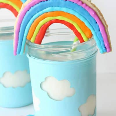 How to Make the Cutest Rainbow Cookies!