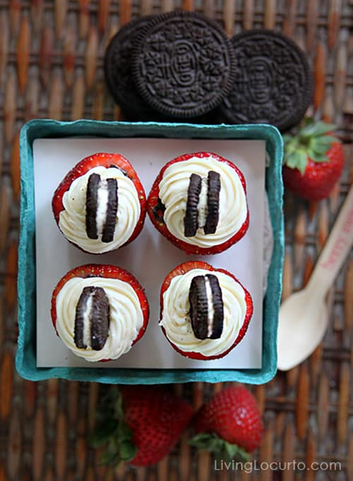 Since there is no baking involved, Strawberry Oreo Cheesecake Bites ...