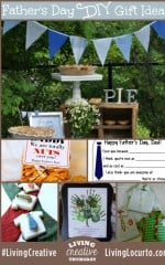 Fathers Day DIY Ideas for Living Creative Thursday on LivingLocurto.com #livingcreative