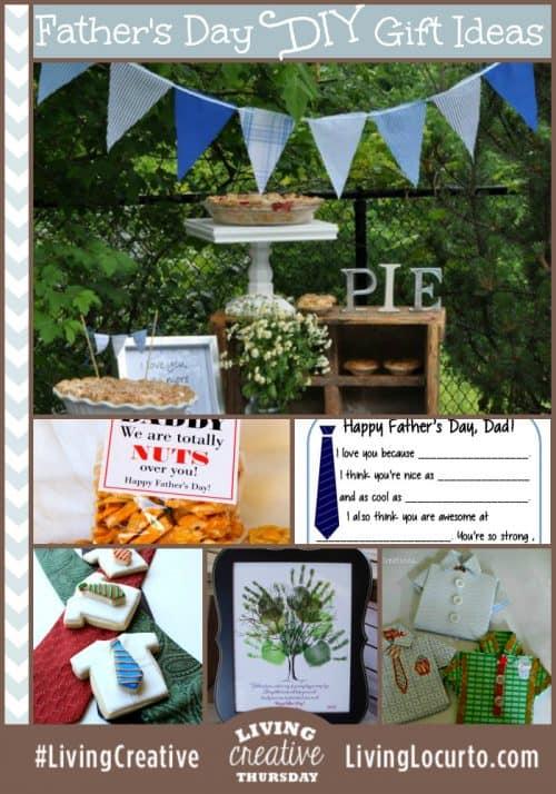 Fathers Day DIY Ideas for Living Creative Thursday on LivingLocurto.com #livingcreative