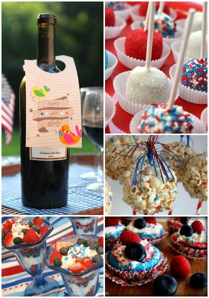 15 Fun 4th of July Ideas - Last minute easy recipes, free printables and party ideas! LivingLocurto.com