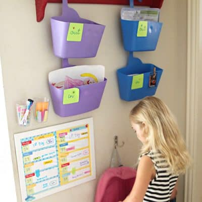 After School Station with Free Printable Weekly Calendars