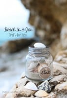 Easy Kids Craft Idea to Preserve Vacation Memories