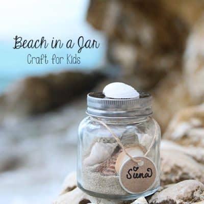 Memory Sand Jars | Vacation Keepsake | Kids Craft Idea
