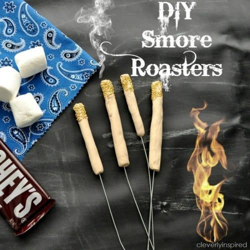 Kids Craft Ideas: DIY Smore Roasters by Cleverly Inspired for #LivingCreative Thursday at Living Locurto