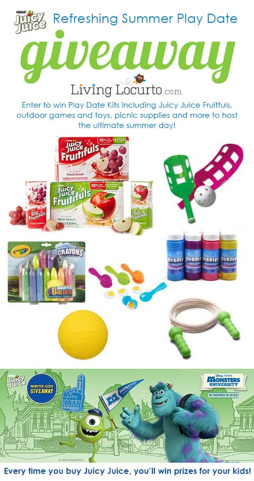 Fun Summer Play Date Giveaway by Juicy Juice at LivingLocurto.com