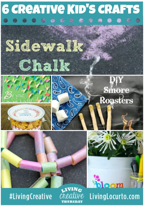 Fun and Easy crafts and activities for kids! Featured ideas for Living Creative Thursday on LivingLocurto.com #LivingCreative