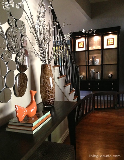 Beautiful House Tour! Get great decorating ideas from this gorgeous home. LivingLocurto.com