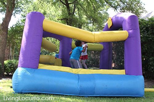 Summer Play Date Ideas - Outdoor Kid Activities - Fun Bounce House