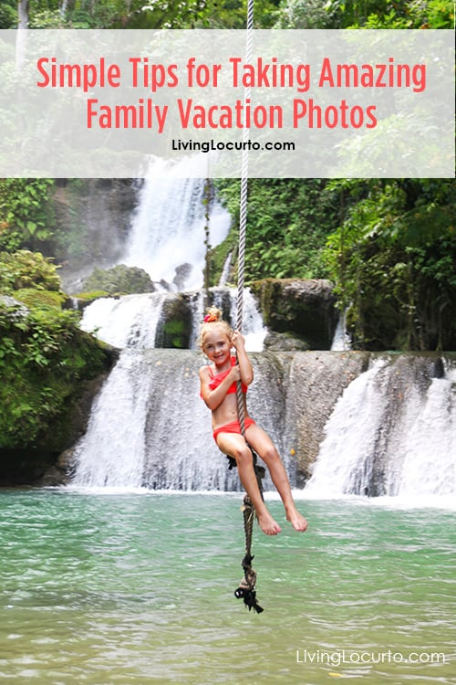 Easy Photography Tips for Taking Amazing Family Vacation Photos! Simple lessons for how to take better photos of kids while traveling on vacation.