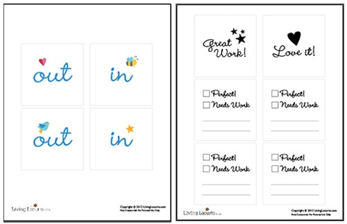 How To Print On Post It Notes With Cute Free Printables For School Homework