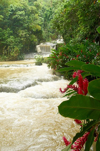 Waterfall - Bluefields Bay Jamaica Villas An All-Inclusive Luxury Resort.