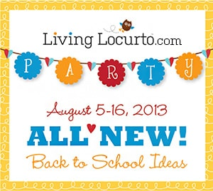 Back to School Party on Living Locurto