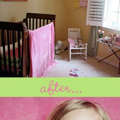 Easy DIY Photography Backrop for Children Photos