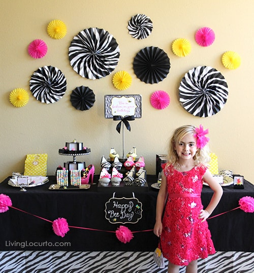 Happy Birthday Girls Party Ideas