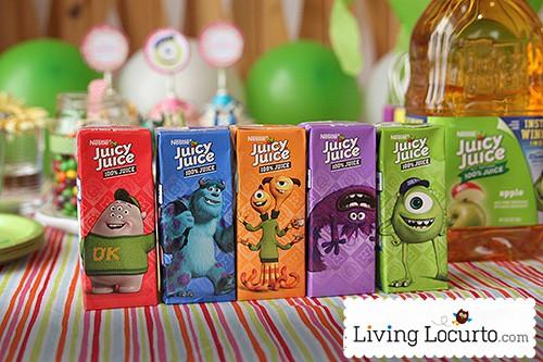 ... Party Printables by Amy Locurto. Juicy Juice boxes LivingLocurto.com